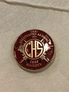 1836 Society lapel pin